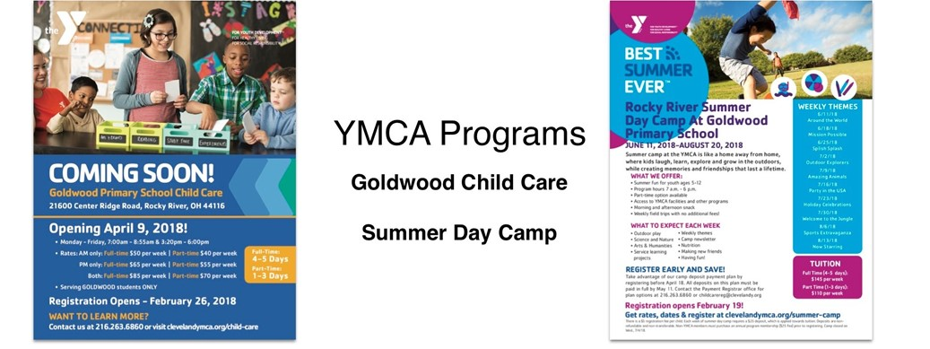 YMCA Goldwood Childcare Program
