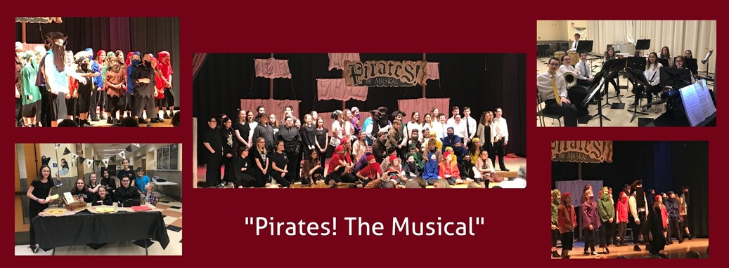 Students perform in Pirates the Musical