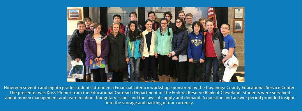 students attending a financial literacy class