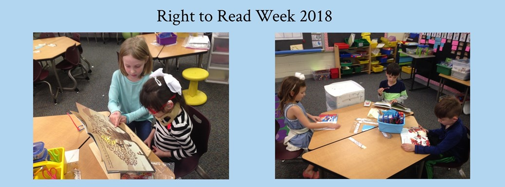 Right to Read Week Images