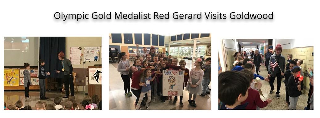 Red Gerard Visits Goldwood