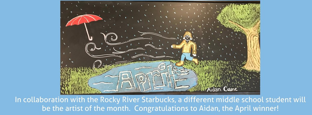 April art rain and wind