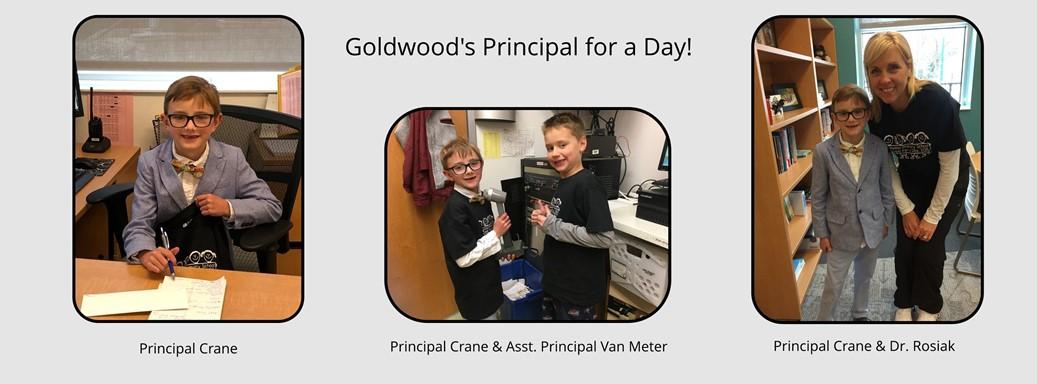 Principal Crane and Assistant Principal Van Meter