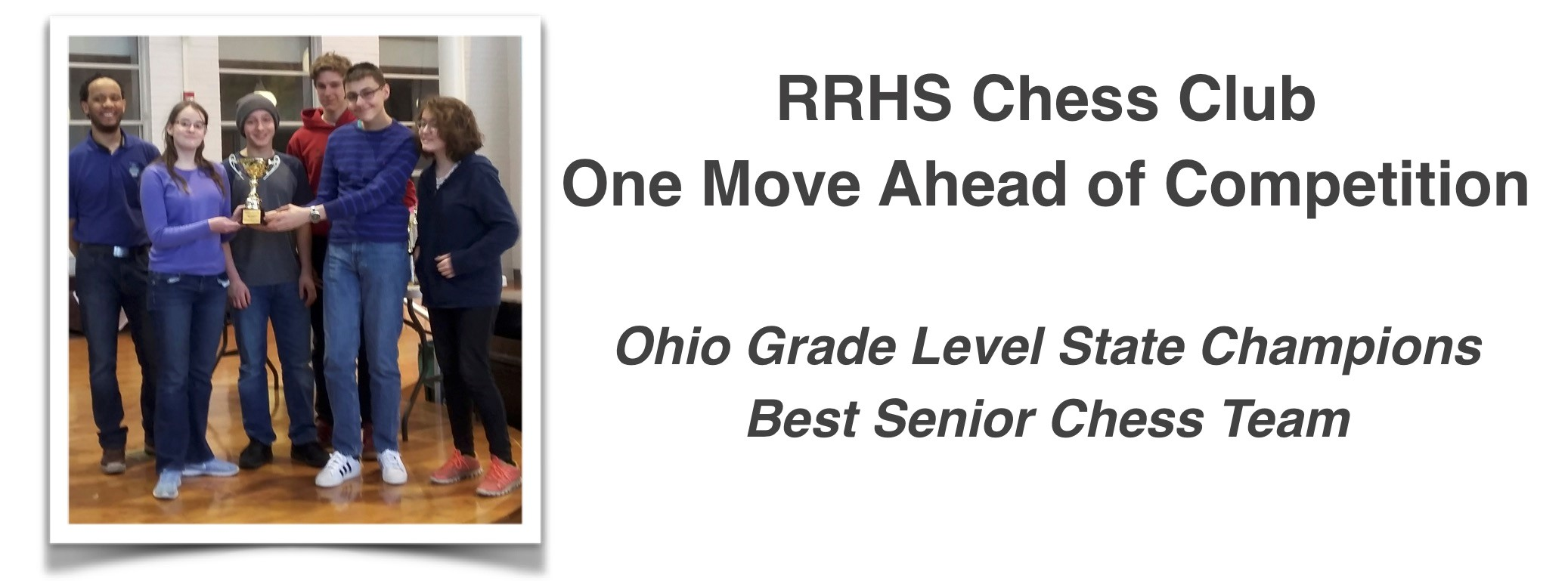 RRHS Chess Club One Move Ahead of Competition