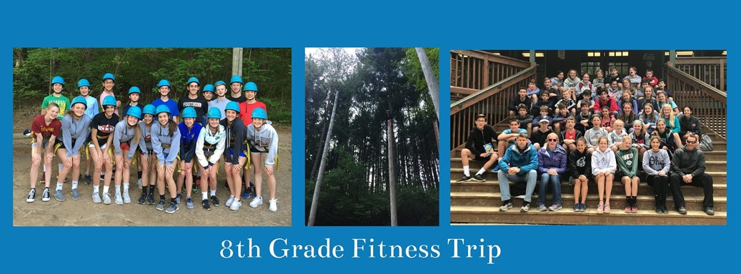 students on fitness trip