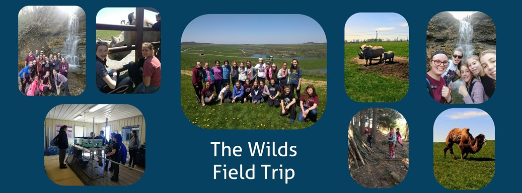 Students visit The Wilds