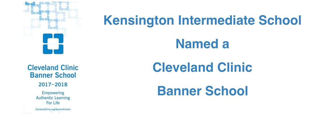 KIS Named Cleveland Clinic Banner School