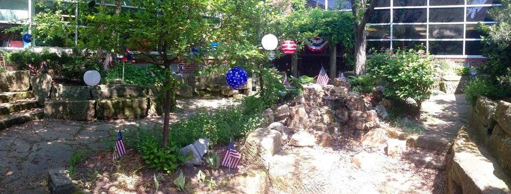 Goldwood Garden Memorial Day Decorations