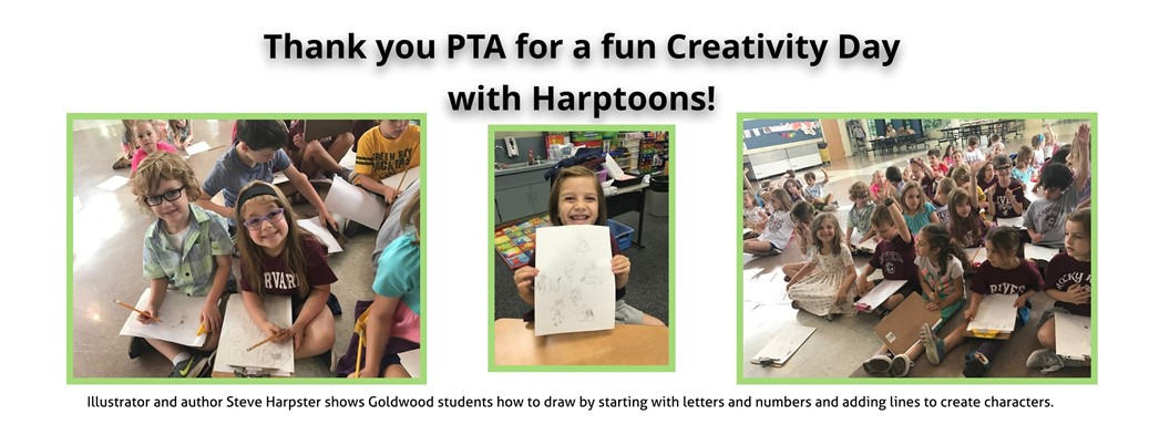 Students participate in PTA Creativity Day