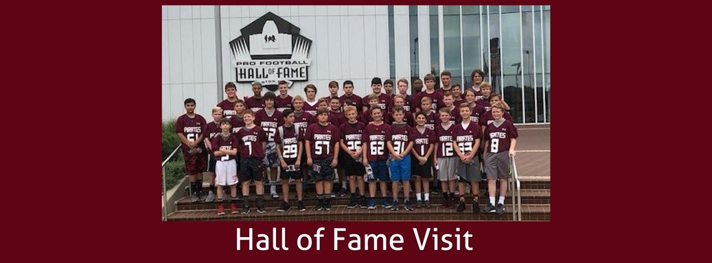 Students at the HOF