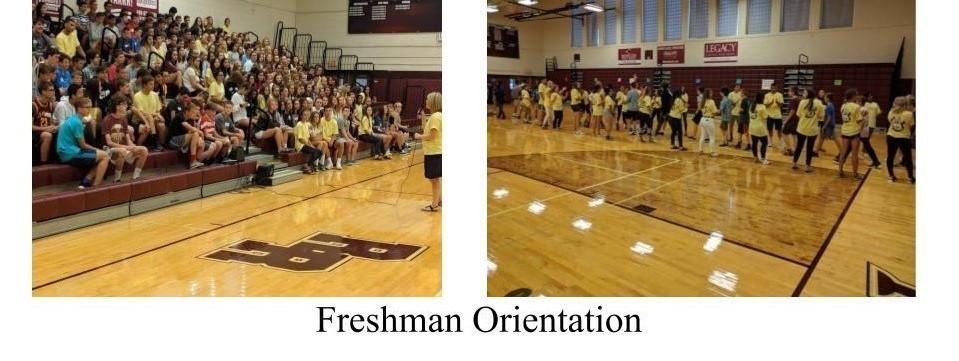 Freshman Orientation Opening Activities
