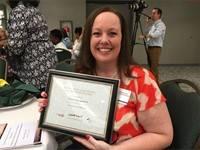 Outstanding Educator Award Winner:  Therese Anagnostos