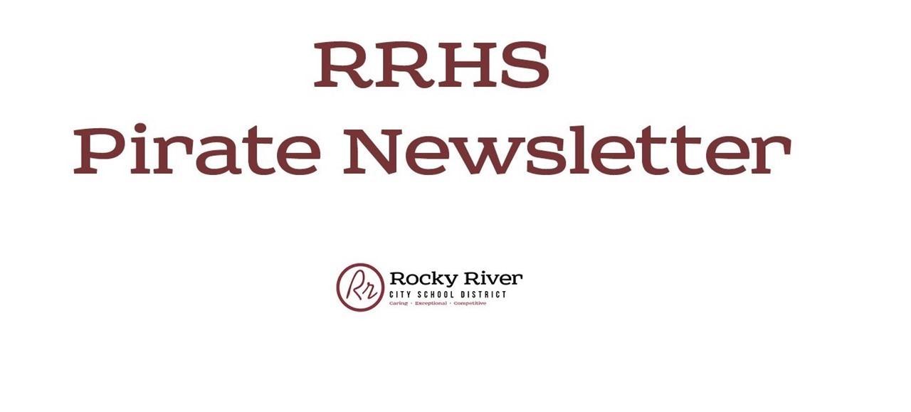 RRHS Pirate Newsletter