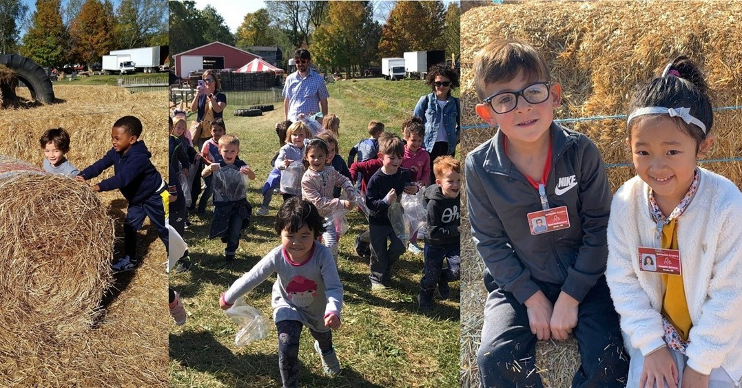 Kindergarten Red Wagon Farm Field Trip