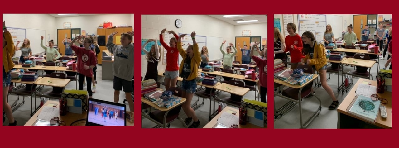 """French students Dance to """"Le Coach"""""""