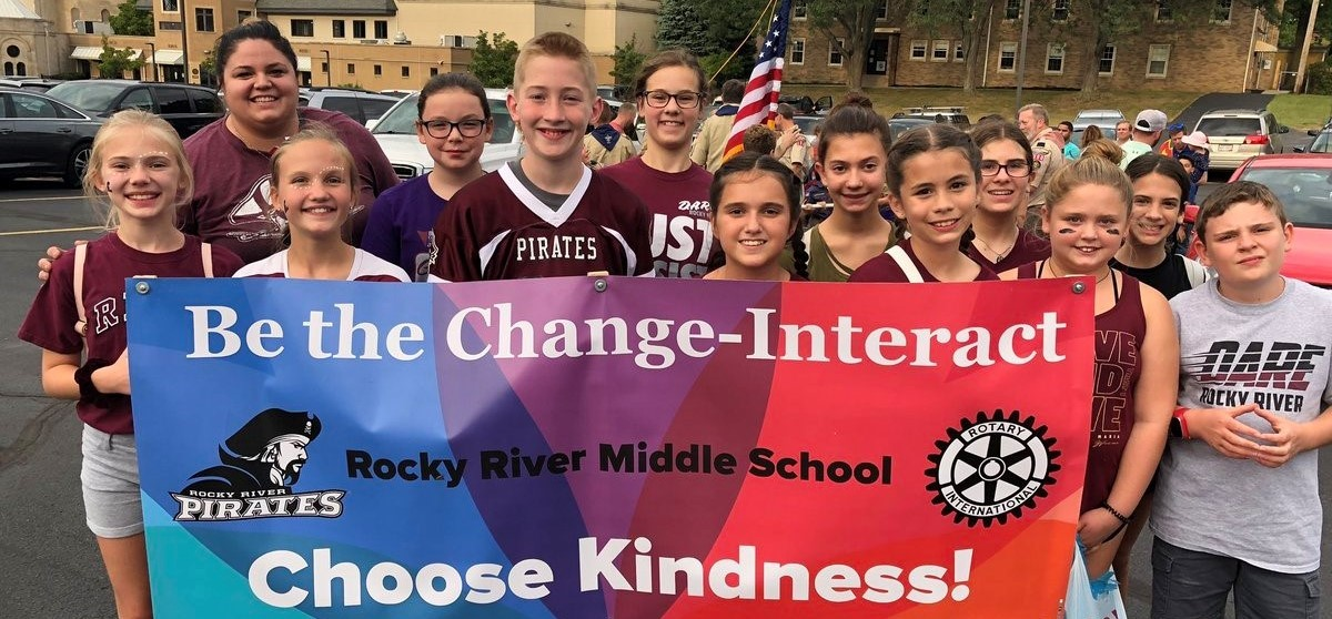 Rocky River Homecoming- Be the Change