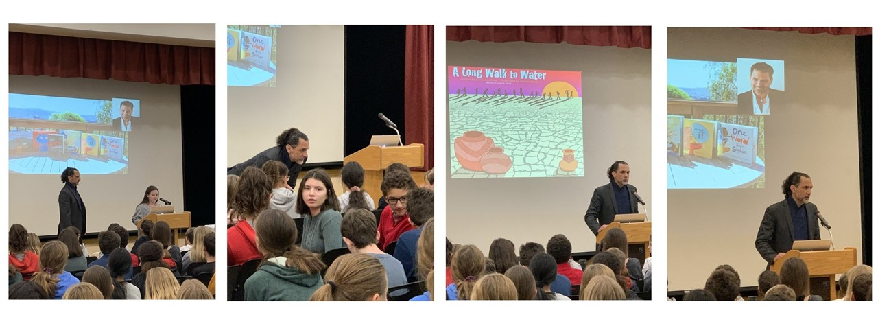 Author/Illustrator Jim Averbeck Visits RRMS