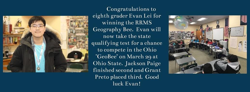 GeoBee Winners