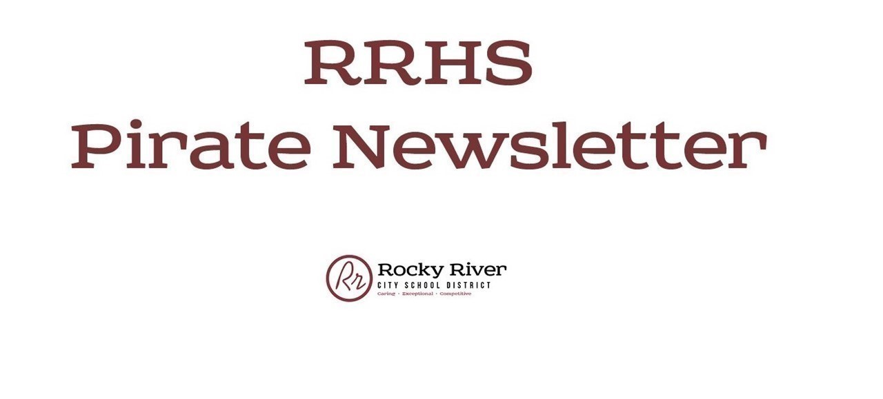 RRHS Pirate Newsletter