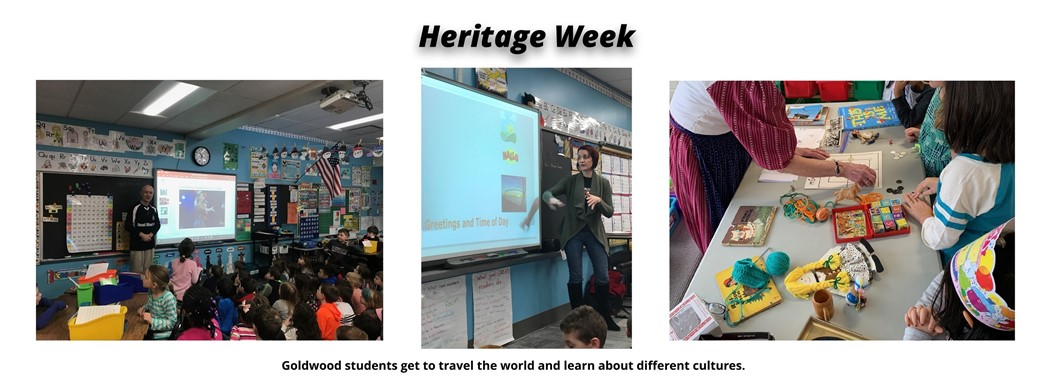 Goldwood students get to travel the world and learn about different cultures.