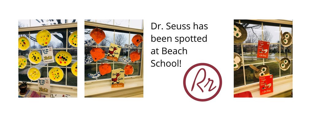 Dr. Seuss has been spotted at Beach School