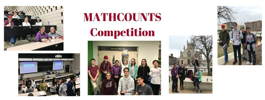 students at math competition