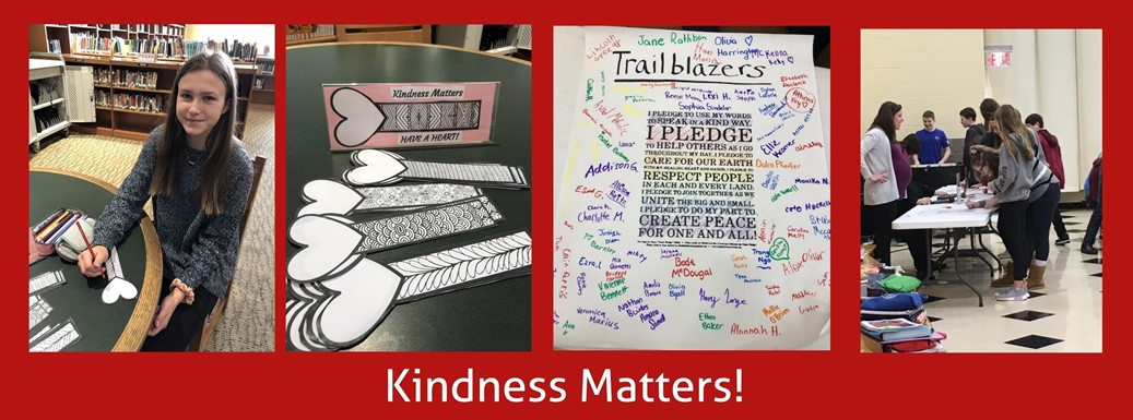 kindness matters poster and bookmarks