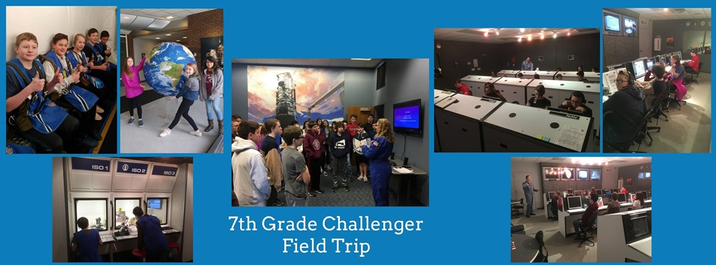students take Challenger field trip to learn about space