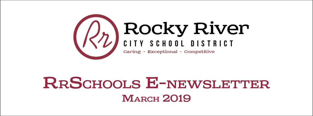 RrSchools March Newsletter 2019