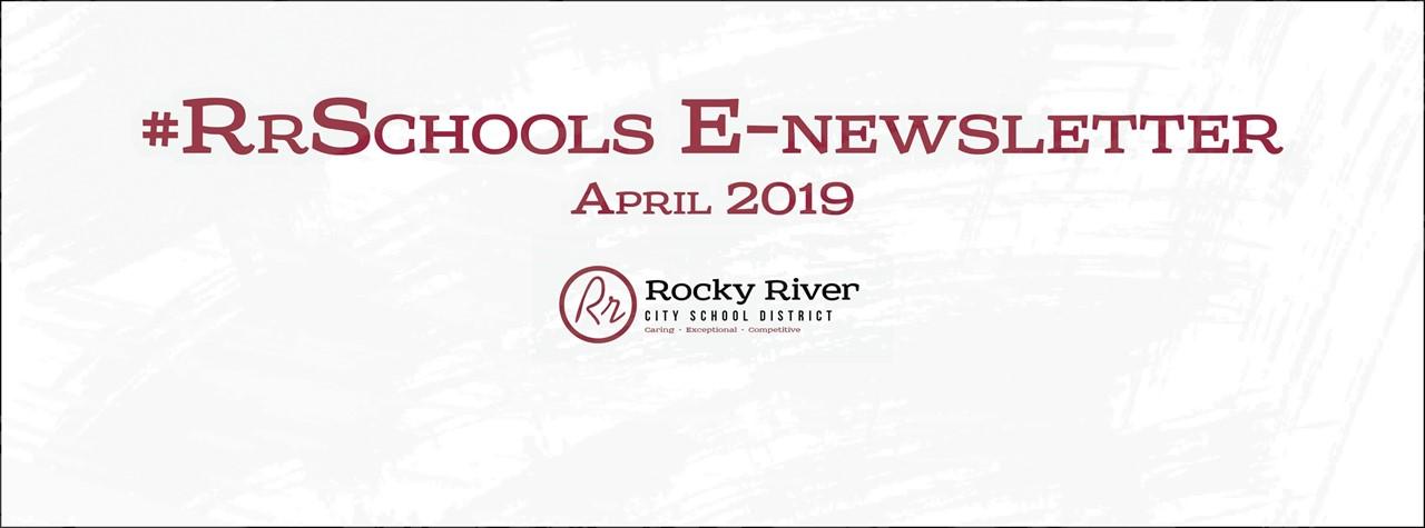 #RrSchools April e-Newsletter