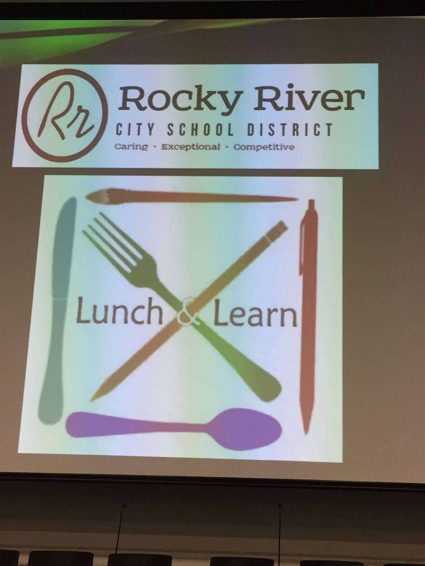 Rocky River's First Ever Lunch and Learn Event