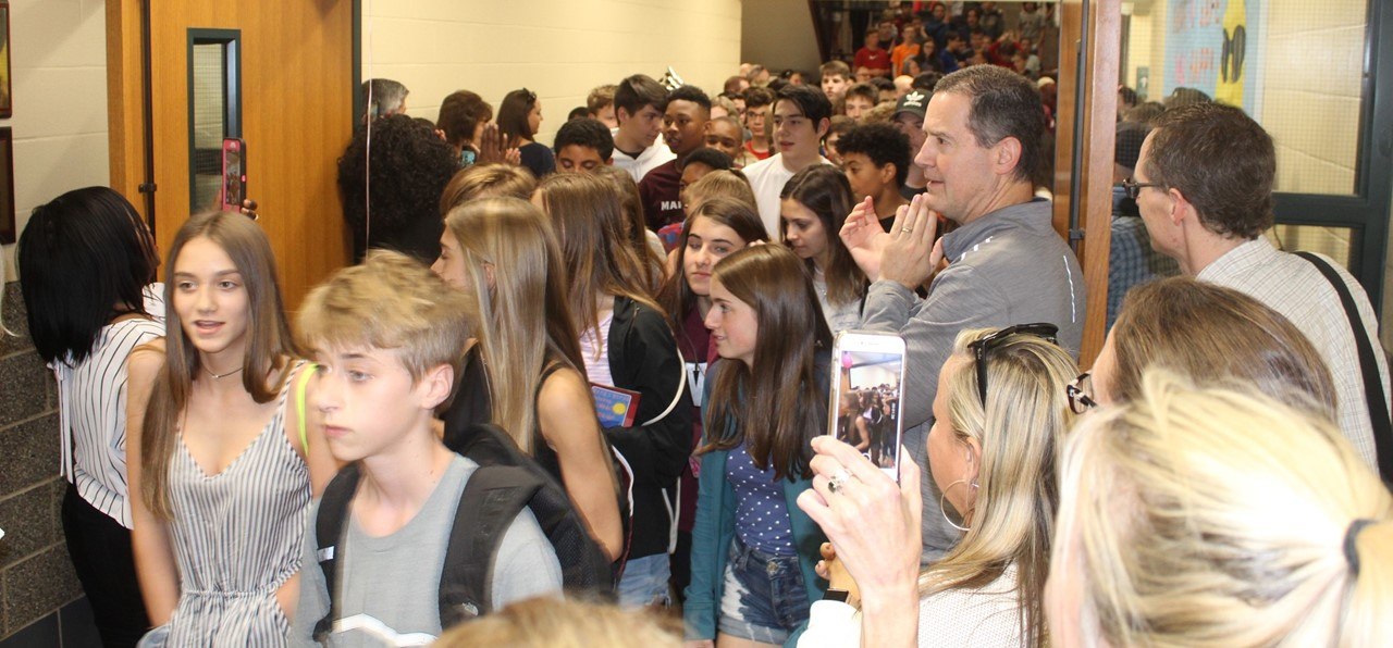 8th Grade clap-out