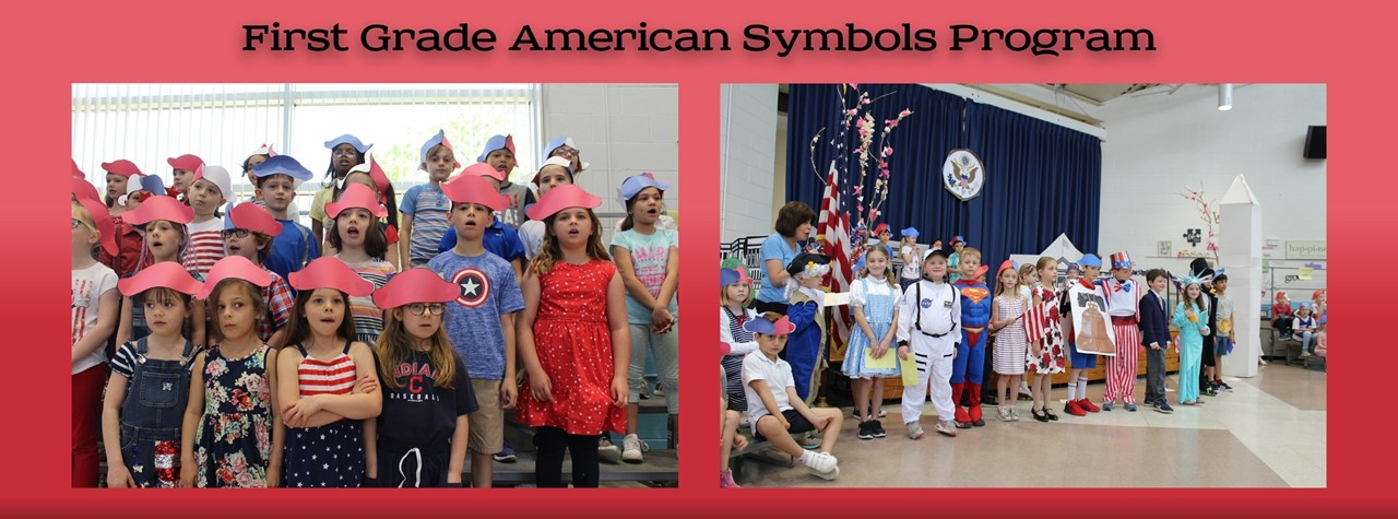 First Grade American Symbols on Parade Program