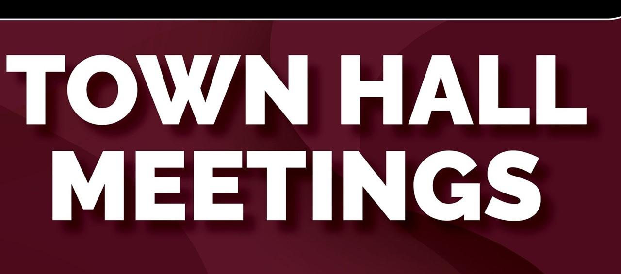 Fall 2019 Town Hall Meetings