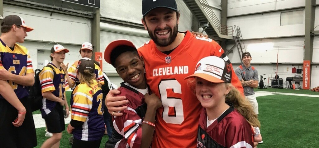 Team Unify Visits the Browns Camp!