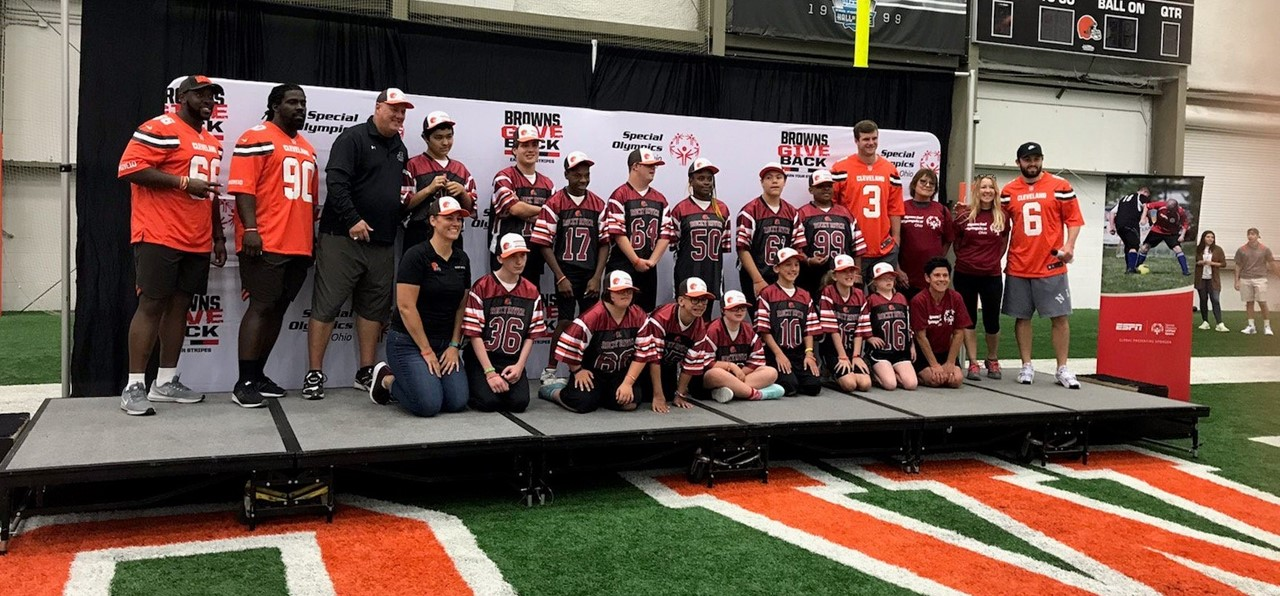 Team Unify at Browns Camp