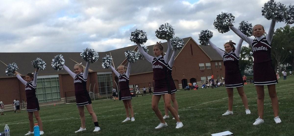 RRMS cheerleaders