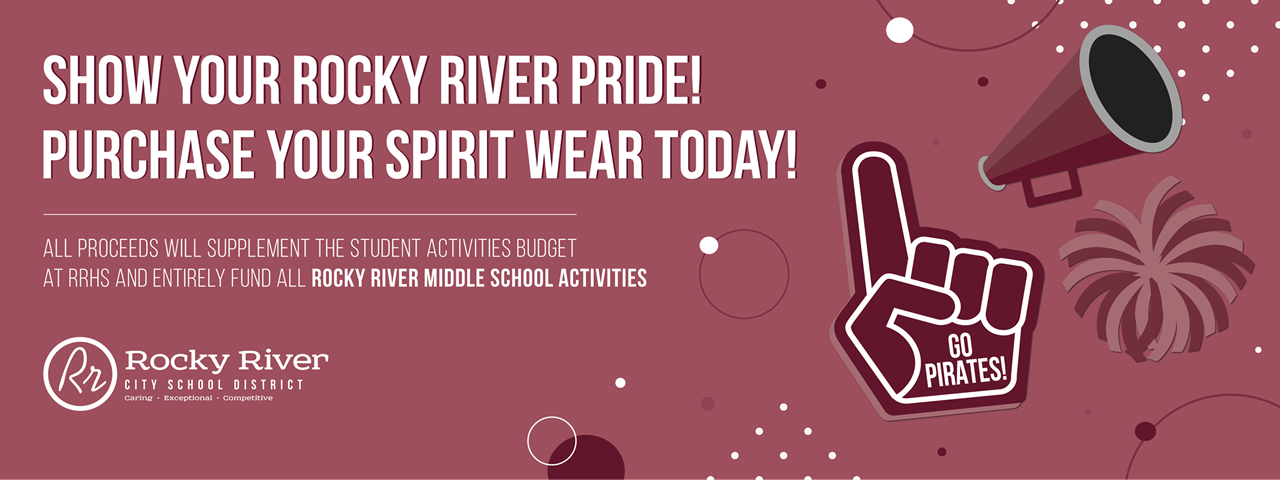 Rocky River Boosters Spirit Wear Sale