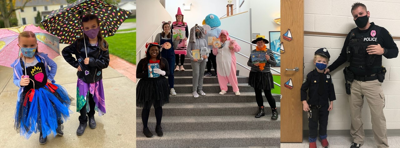 Happy Halloween! students and staff dress up for Halloween