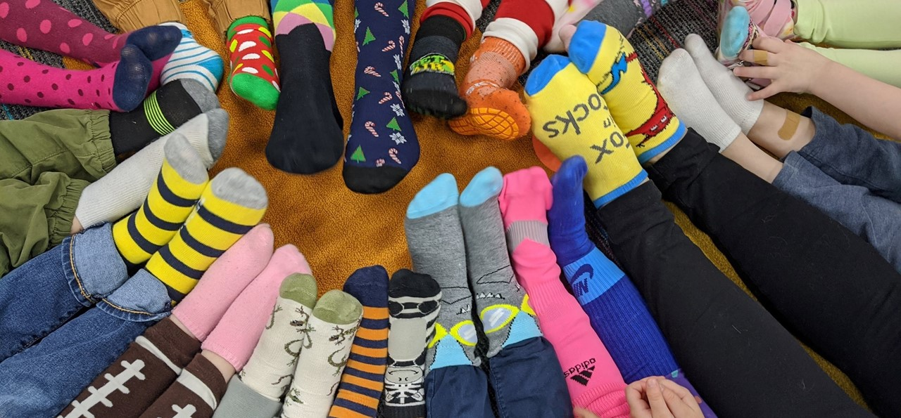 Dr. Seuss Celebration with Crazy Socks!