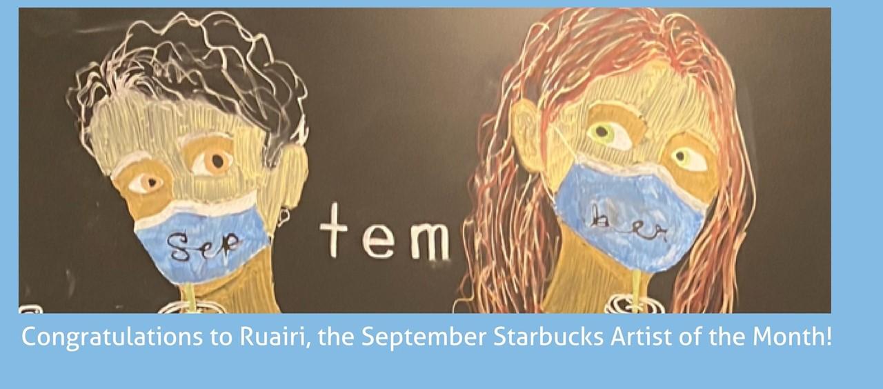 Starbucks Artist of the Month Ruairi