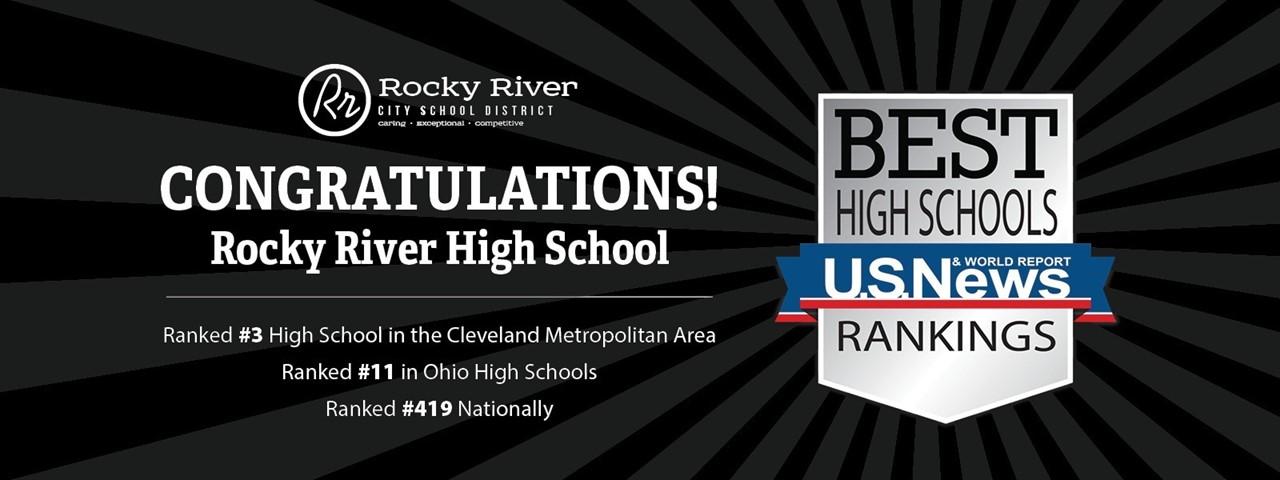 RRHS U.S. News & World Report Best High Schools