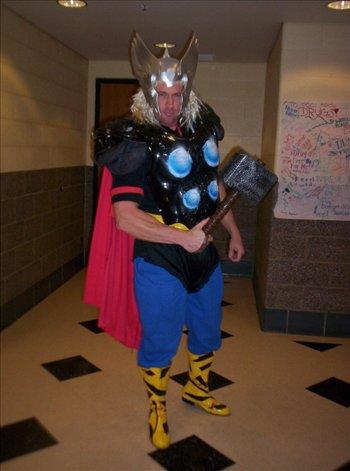 SUPER HERO SCIENCE! :-)