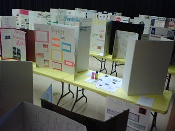 SCIENCE PROJECTS ON DISPLAY