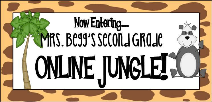 Now Entering Mrs. Begg's Second Grade Online Jungle