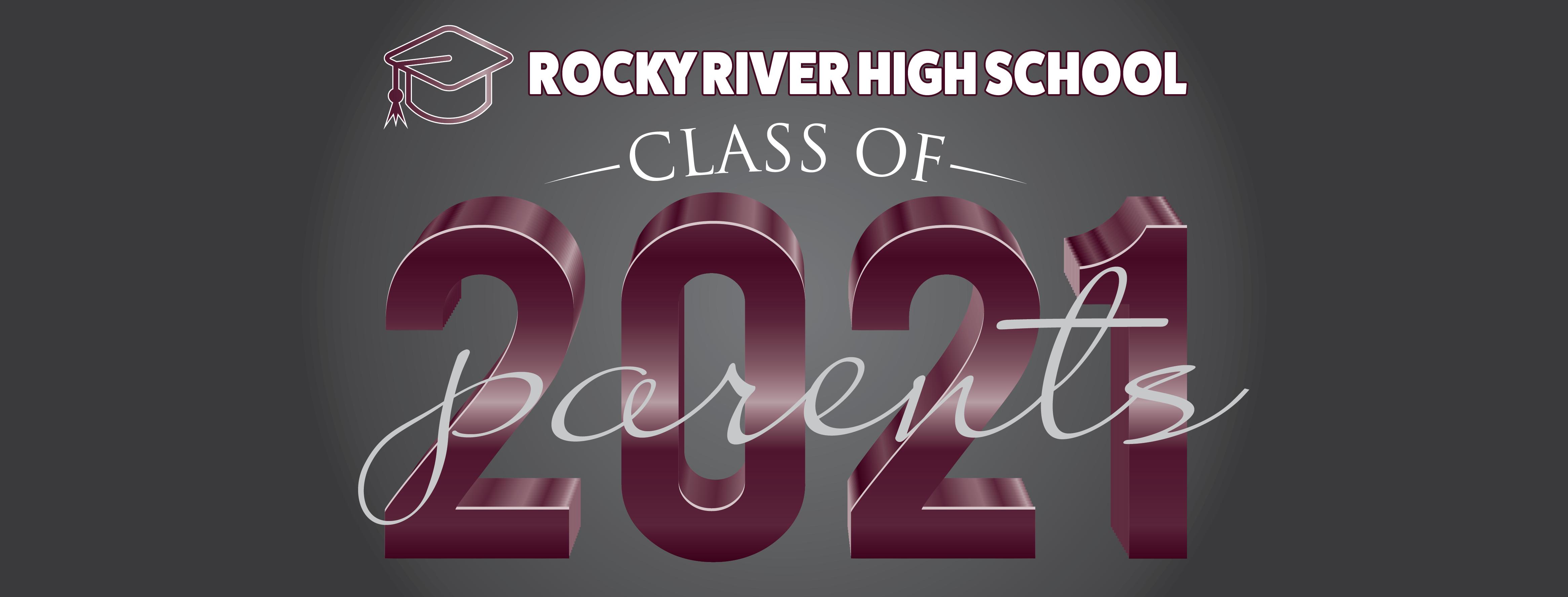 Class of 2021 senior parents logo
